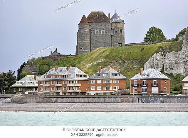 front de mer, Dieppe, departement de Seine-Maritime, region Normandie, France/seafront, Dieppe, Seine-Maritime department, Normandy region, France