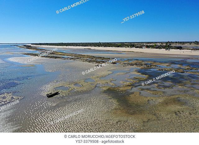 Salt flats at Belo sur Mer, Morondava district, Madagascar