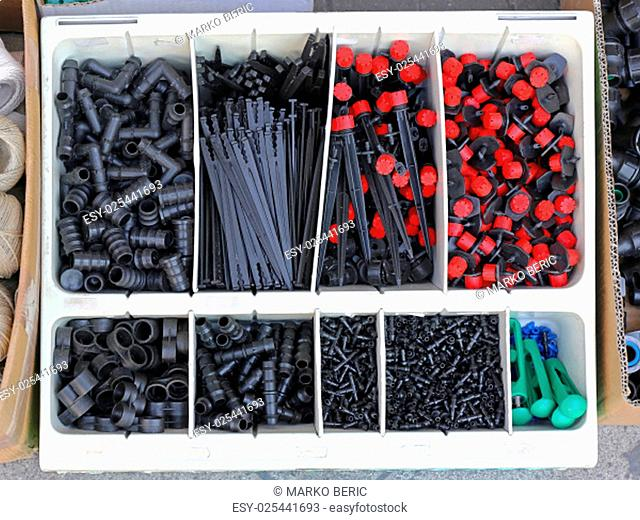 Drip Irrigation System Fittings Parts and Supplies