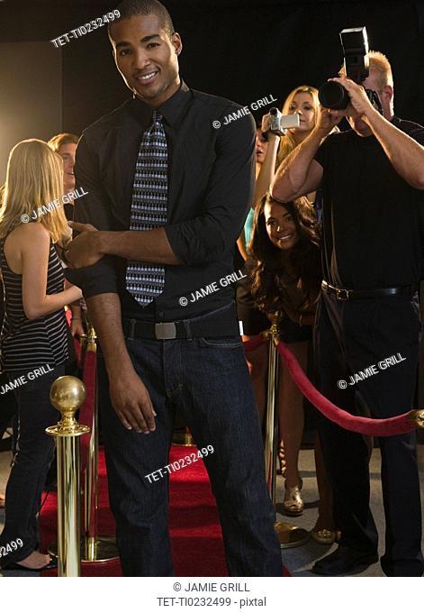 Paparazzi at red carpet event