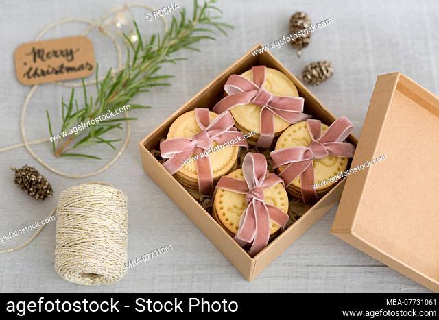 Present, box, Merry Christmas, Christmas decoration, wrap up