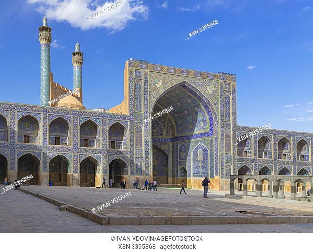 Shah Mosque, Isfahan, Isfahan Province, Iran