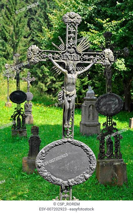 ancient tombstones