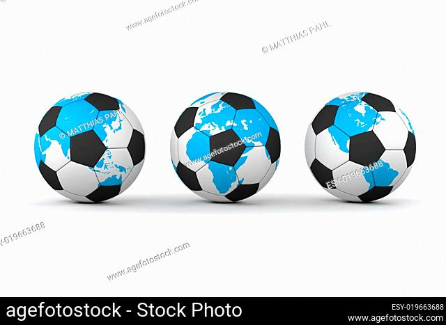 Football-Soocer Around the World