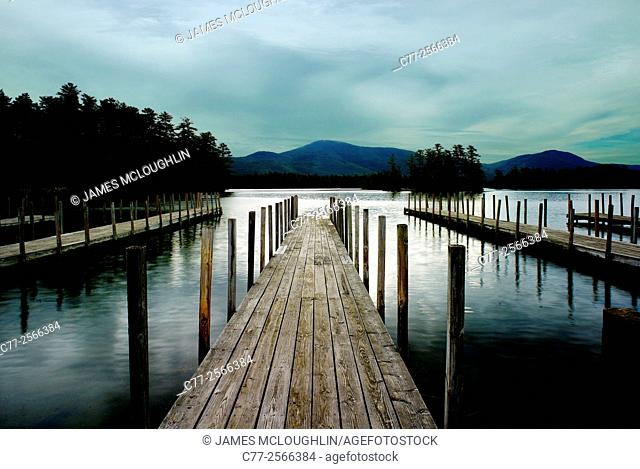Waterscape, docks