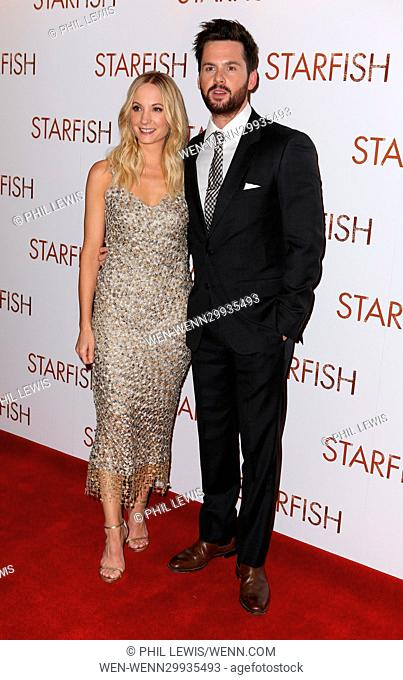 Guests attend red carpet for the UK Premiere of Starfish Featuring: Joanne Froggatt, Tom Riley Where: London, United Kingdom When: 27 Oct 2016 Credit: Phil...