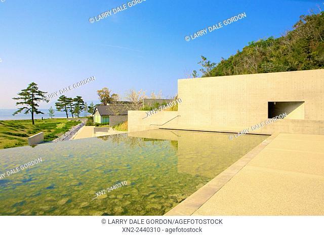 Benesse House Museum - Naoshima Art Island, Tadeo Andro - Architect. Naoshima Art Island. Japan