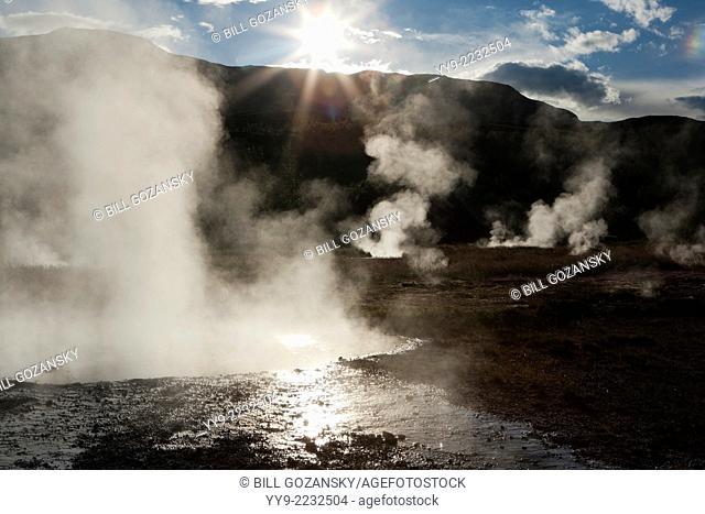 Geysir - Golden Circle - Southwestern Iceland