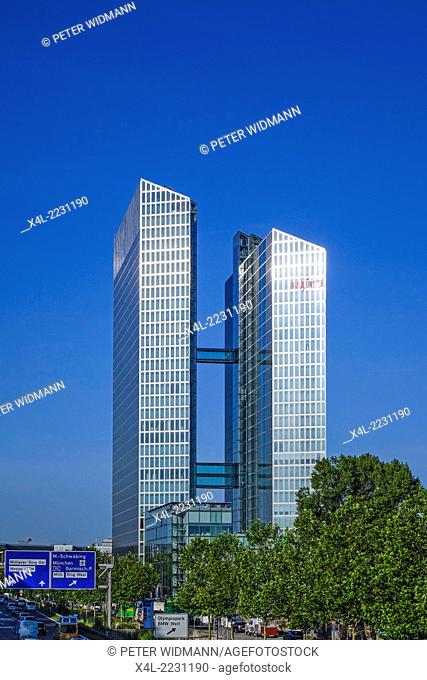 Highlight Business Towers, Munich, Bavaria, Germany, Europe