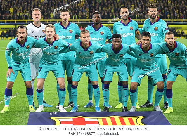firo: 17.09.2019 Football, 2019/2020 Champions League BVB Borussia Dortmund - FC Barcelona 0: 0 team photo, team photo, Barcelona | usage worldwide
