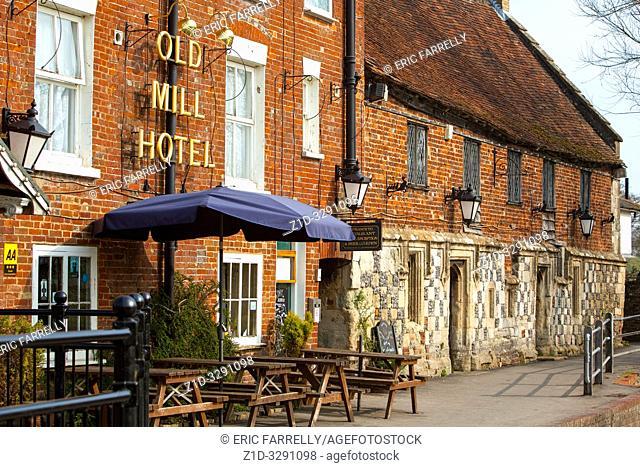 Old Mill Hotel Salisbury England UK