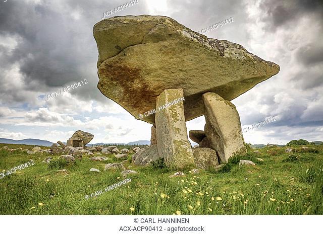 Dolmen near Narin, County Donegal, Ireland