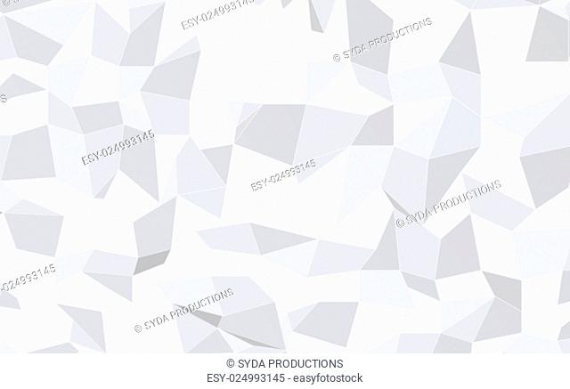 wallpaper, illustration and backdrop concept - blurred abstract monochrome geometric pattern low poly background