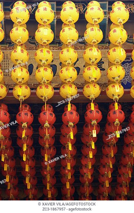 Lanterns, Kek Lok Si Temple, Penang, Malaysia