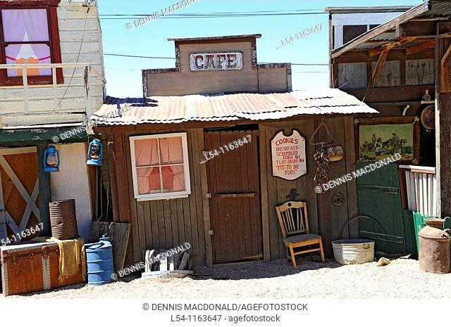 Stage for gunfights Tombstone Arizona