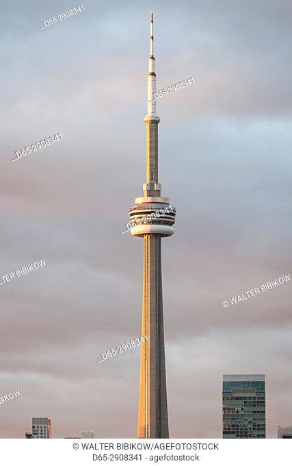 Canada, Ontario, Toronto, Harbourfront, CN Tower