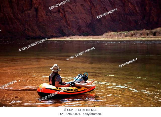 Colorado River Pack Rafting