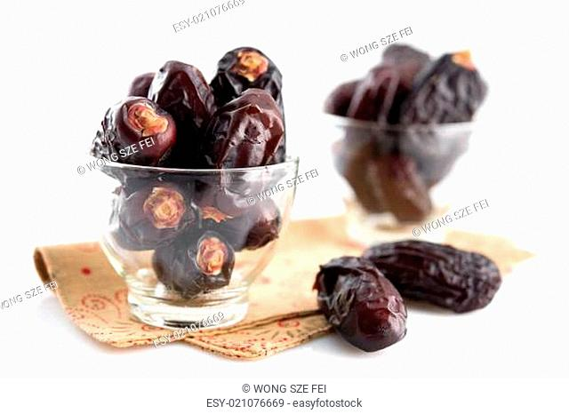 Dried dates fruit