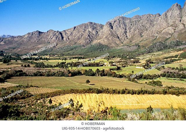 Cape Wine Route, Franschhoek, Western Cape