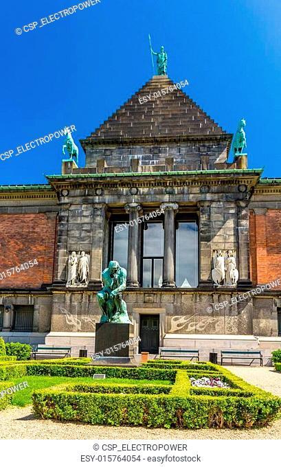 Ny Carlsberg Glyptotek, an art museum in Copenhagen, Denmark