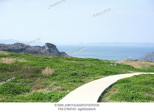 High view from Island Naoshima