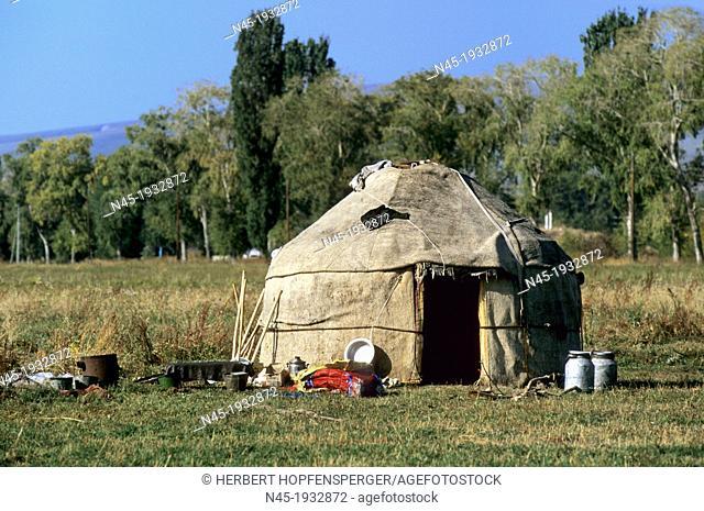 Yurt; Traditional Tent; Kyrgyzstan