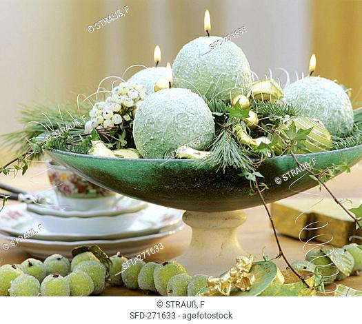 Exotic Advent wreath
