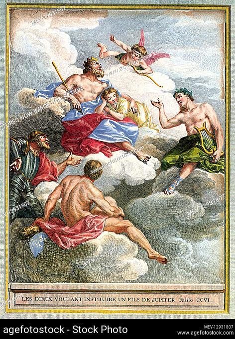 Gods Teach Zeus' Son