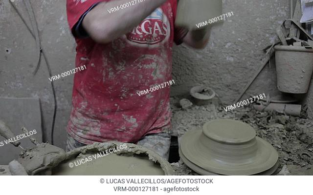 Workshop of Antonio Campos,Pottery. Alfarería, 22. Triana quarter,Sevilla,Spain