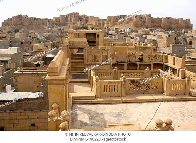 Sonar fort Jaisalmer Rajasthan India Asia