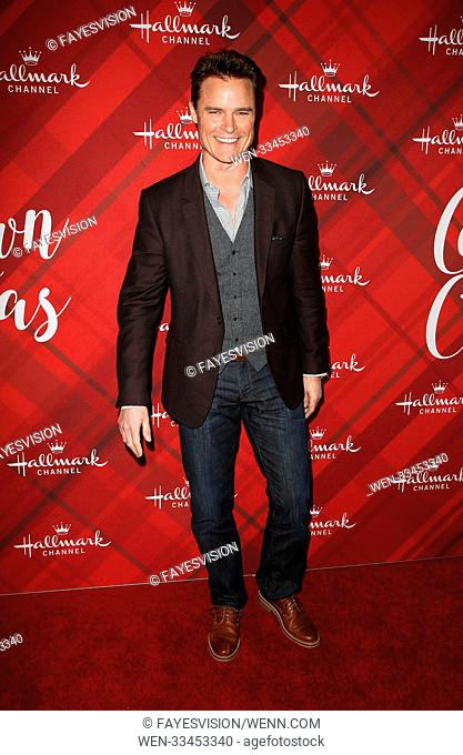 Hallmark Channel Screening of Christmas at Holly Lodge Featuring: Dylan Neal Where: Los Angeles, California, United States When: 04 Dec 2017 Credit:...