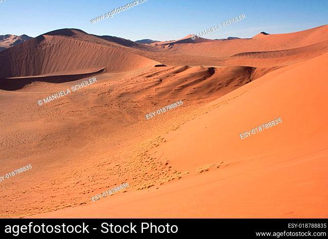 Die roten Dünen Namibias