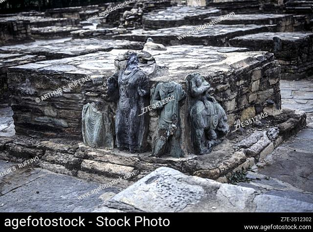 Taxila Archaeological Site. UNESCO World Heritage Site. Pakistan, Silk Road. South Asia