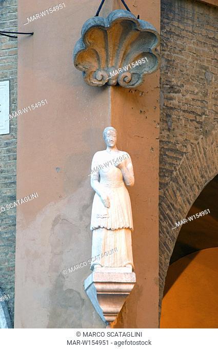 europe, italy, emilia romagna, modena, bonissima, statue