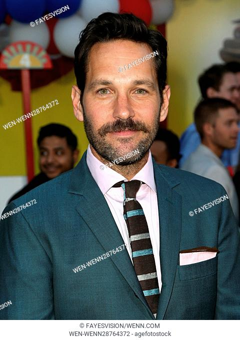 Premiere of Sony's 'Sausage Party' at Regency Village Theatre - Arrivals Featuring: Paul Rudd Where: Westwood, California