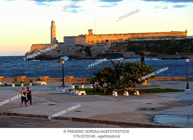 Morro castle and fortress in Havana, Cuba