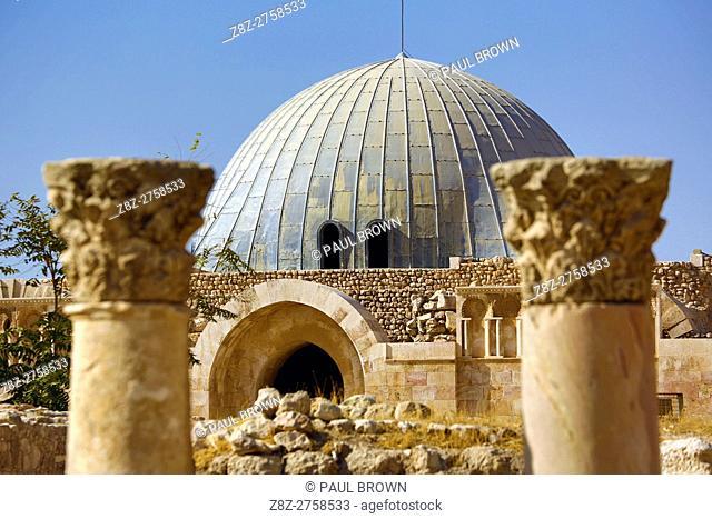 The Umayyad Palace in the Amman Citadel, Jabal Al-Qala, Amman, Jordan