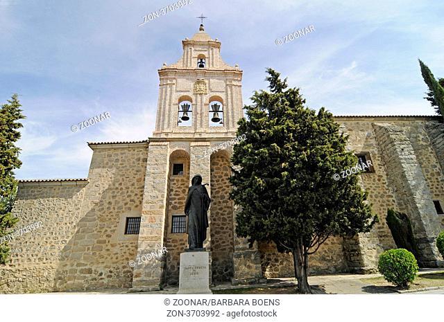 Monasterio de la Encarnacion, monastery, church, Avila, Castile-Leon, Spain, Europe, Monasterio de la Encarnacion, Kloster, Kirche, Avila, Castilla y Leon