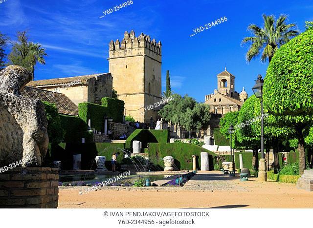 Alcazar of Cordoba, Andalusia, Spain