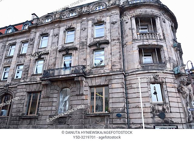 Iwalewahaus - University of Bayreuth, mission of Iwalewahaus is to research, document and teach recent African culture, Wölfelstrasse next to Margravial Opera...
