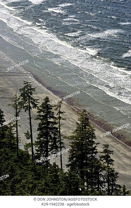 View from Tow Hill, Naikoon Provincial Park, Graham Island, Haida Gwaii, British Columbia, Canada