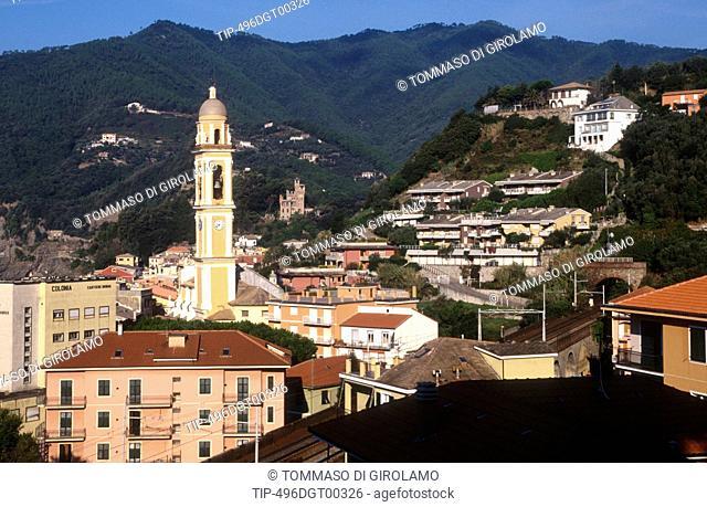 Italy, Liguria, Moneglia