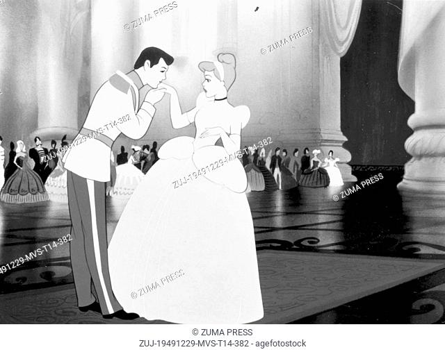 Dec 29, 1949; Los Angeles, CA, USA; Scene from the animated movie 'Cinderella'. (Credit Image: © Courtesy of Walt Disney Producti/Entertainment...