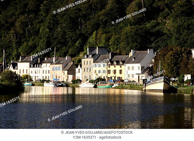 Port Launay, Canal from Nantes to Brest, Brittany