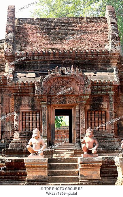 Southeast Asia Cambodia Banteay Srei