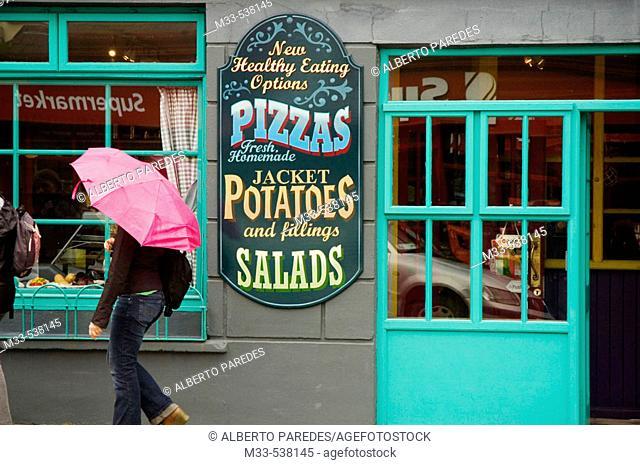 Restaurant. Dingle. Dingle peninsula. Co. Kerry. Ireland