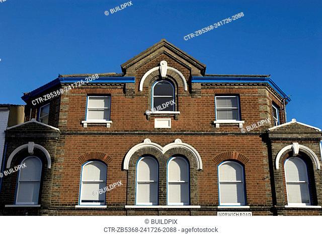 Victorian frontage, Ipswich UK