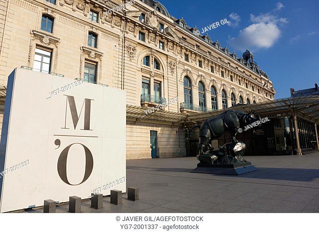 Orsay Museum, Paris, Ile de France, France