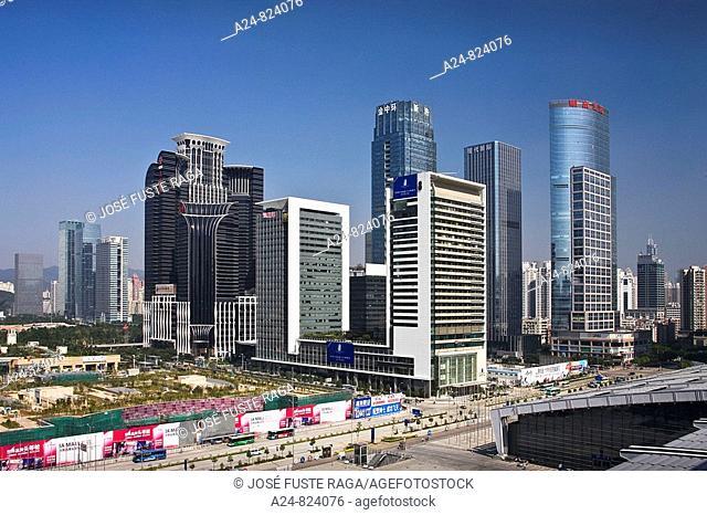 Central Shenzhen, Shenzhen City, China (November 2008)