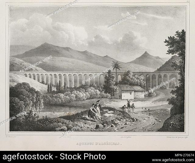 Algeciras aqueduct. Dumont d'Urville, Jules-Sébastien-César (1790-1842) (Author). Voyage of the corvette the Astrolabe executed by order of the king: during the...